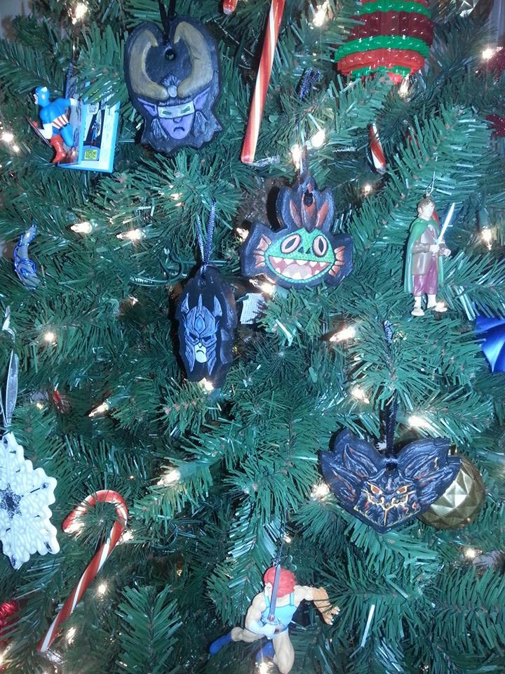 Warcraft Ornaments