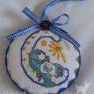Letter C Ornament
