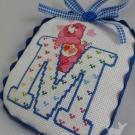 Letter M Ornament