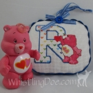 Letter R Ornament