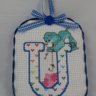 Letter U Ornament