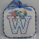 Letter W Ornament