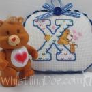 Letter X Ornament