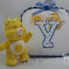 Letter Y Ornament